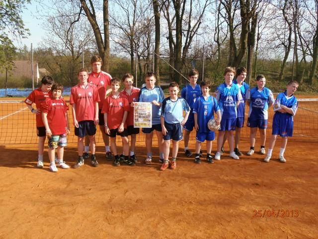 Turnaj dvojic žáků - Řeporyje 25.4.2013